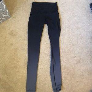 Lululemon black ombré activewear bottoms